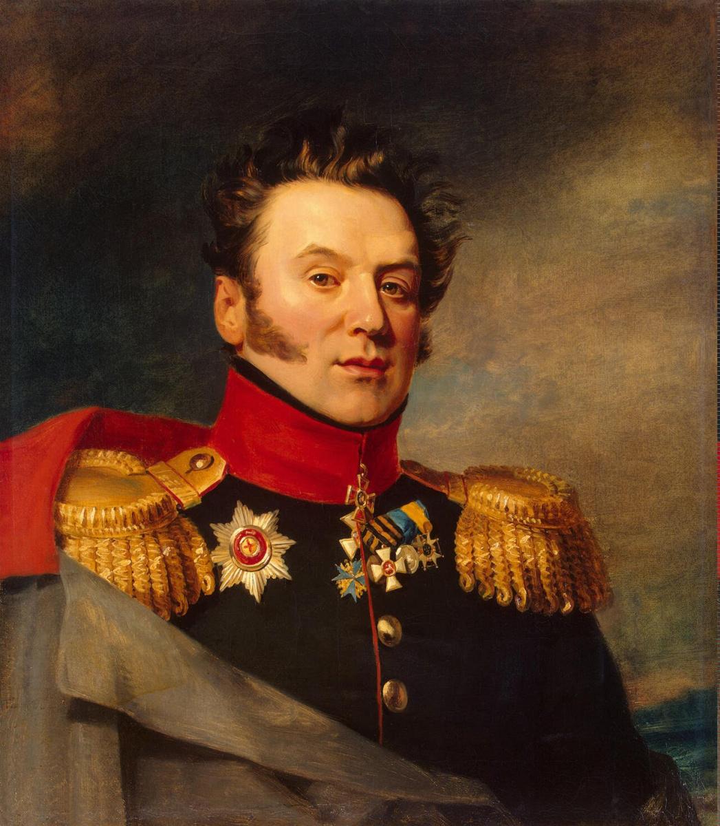 George Dow. Portrait Of Konstantin Markovich Poltoratsky