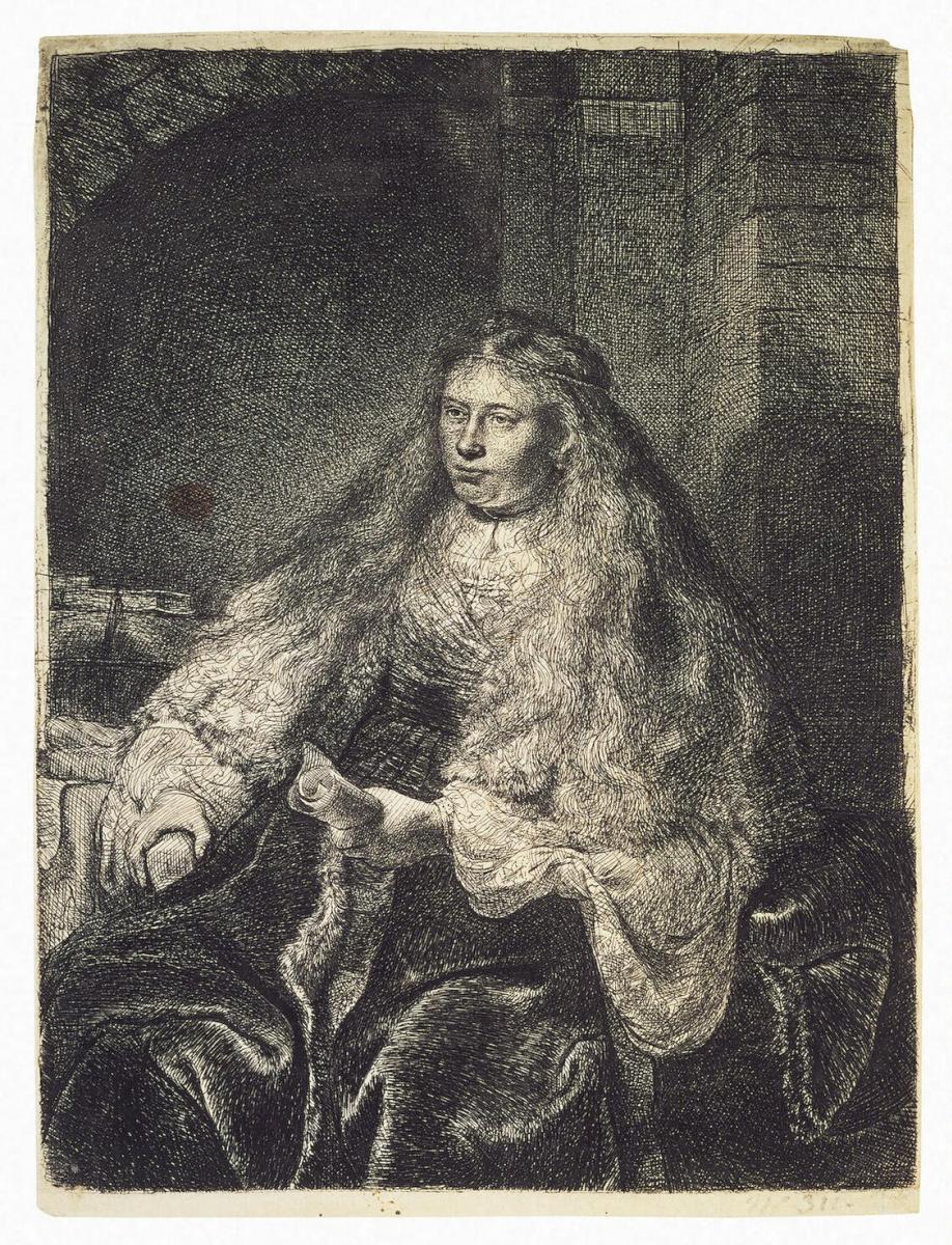 Рембрандт Ван Рейн. Большая еврейская невеста