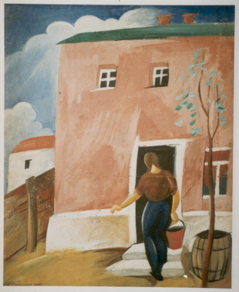 Nikolay Nikolayevich Goloschapov. Sketch