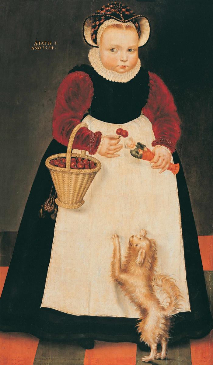 Изак Клас ван Сваненбюрг. Портрет девочки