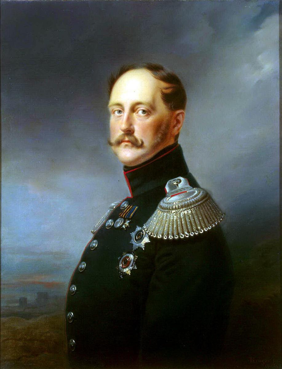 Франц Крюгер. Портрет Николая I