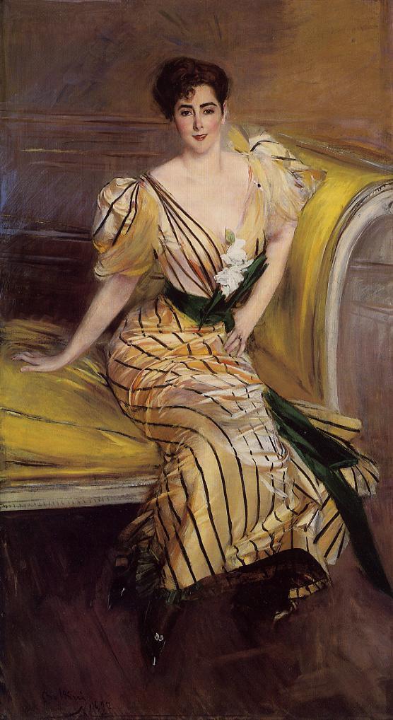 Джованни Больдини. Портрет мадам Жозефины Альвеа де Эррасуриз