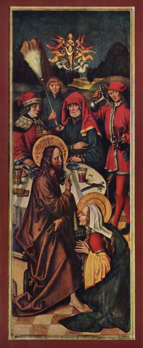 Зигмунд Хольбейн. Христос в доме Симона