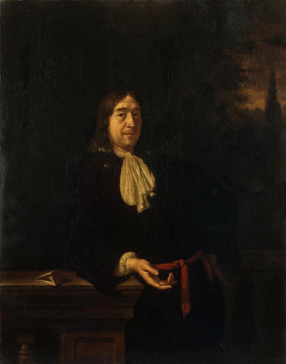Франц ван Мирис Старший. Портрет молодого человека