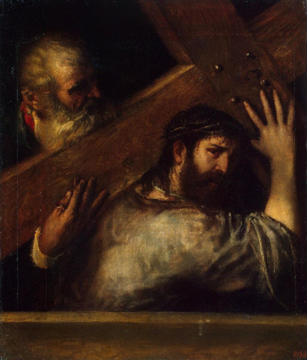 Тициан Вечеллио. Несение креста