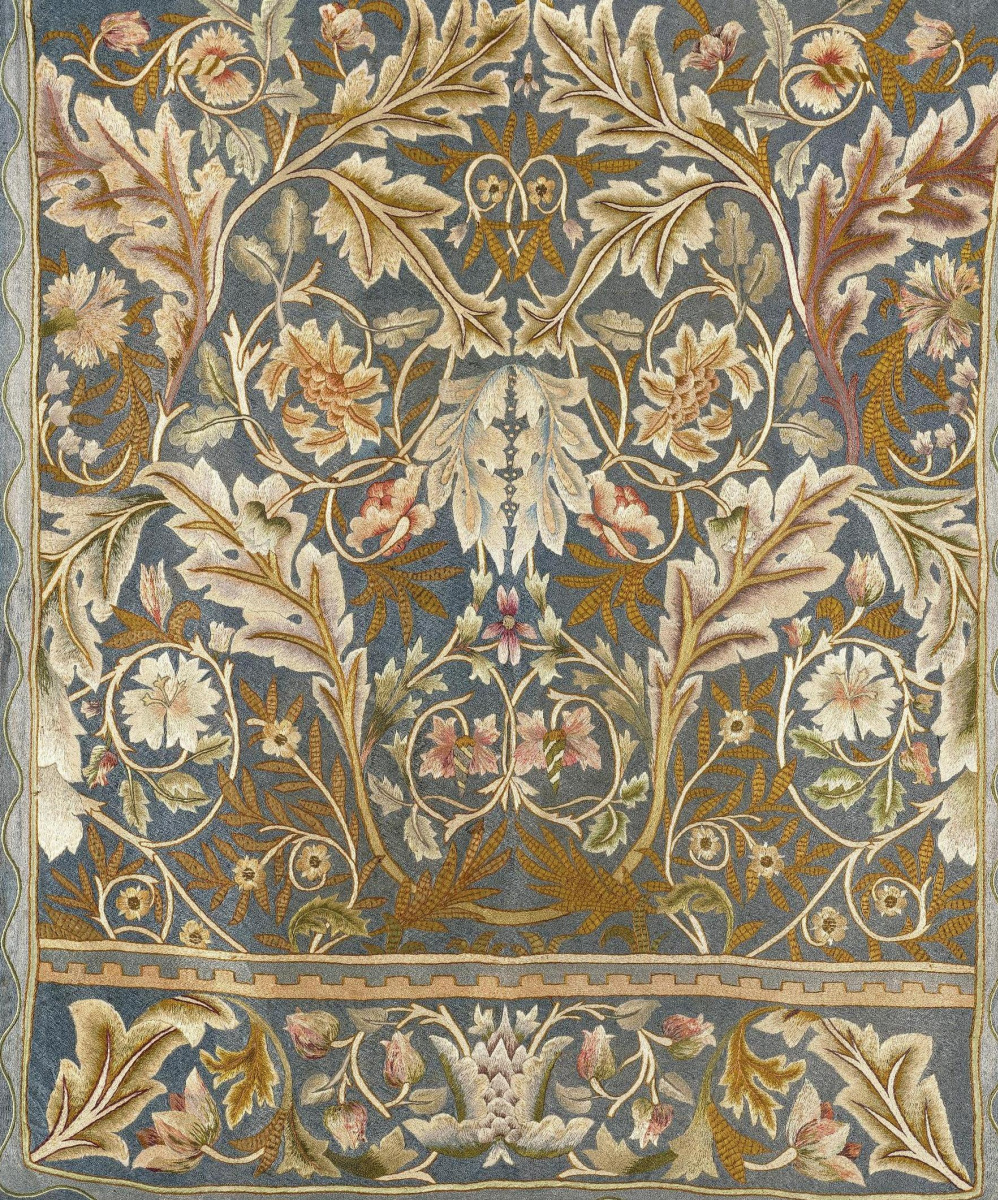 William Morris. Flowers for Lady Bell