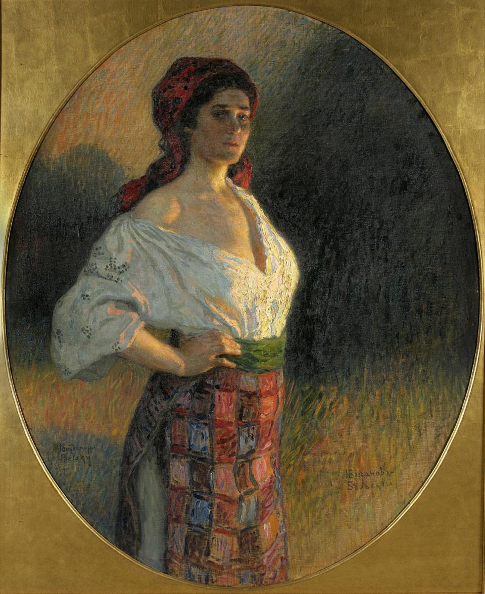 Николай Петрович Богданов-Бельский. Молодая чаровница