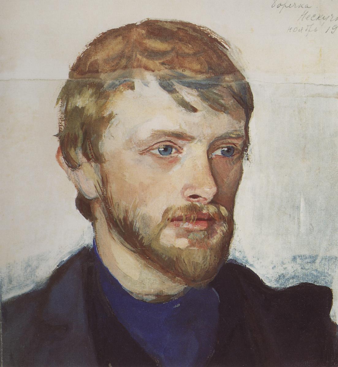 Zinaida Serebriakova. A Portrait Of Boris Serebryakov