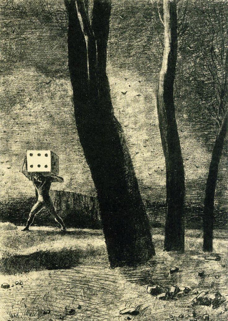 Odilon Redon. Player