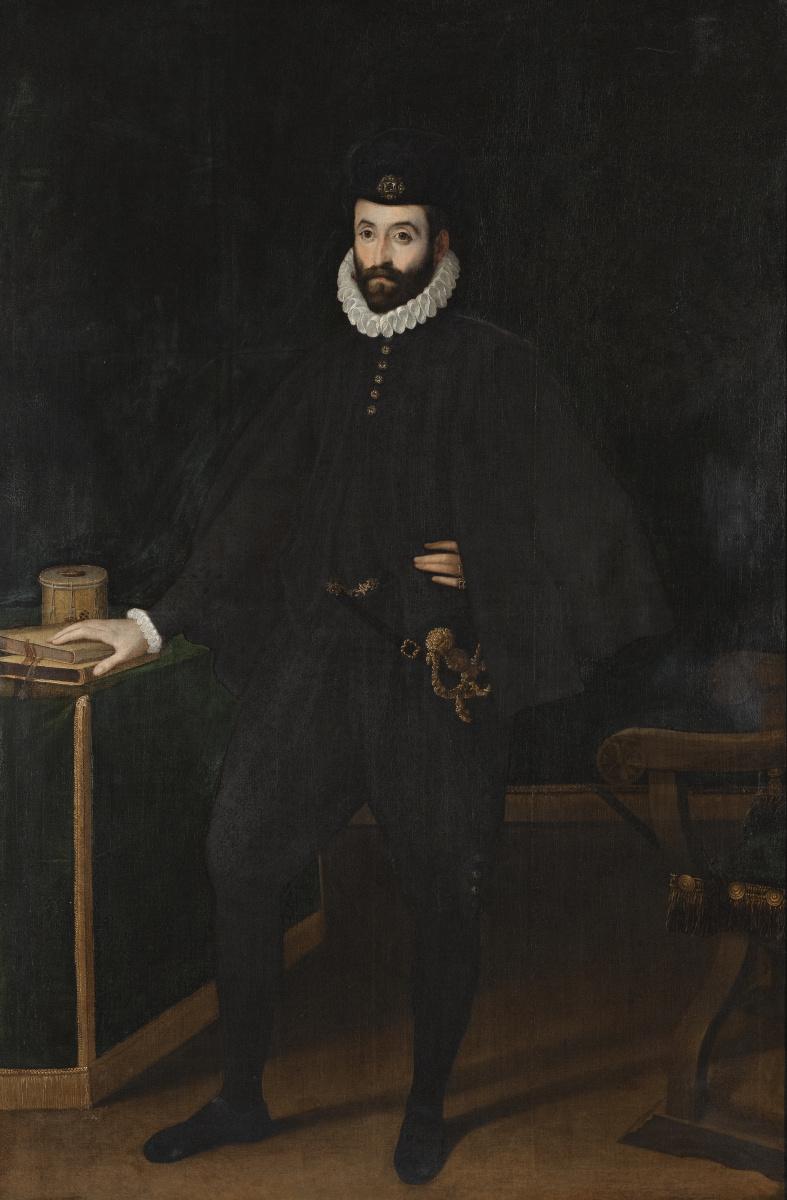 Sofonisba Angisola. Portrait of Francesco di Medici, eldest son of Cosimo I
