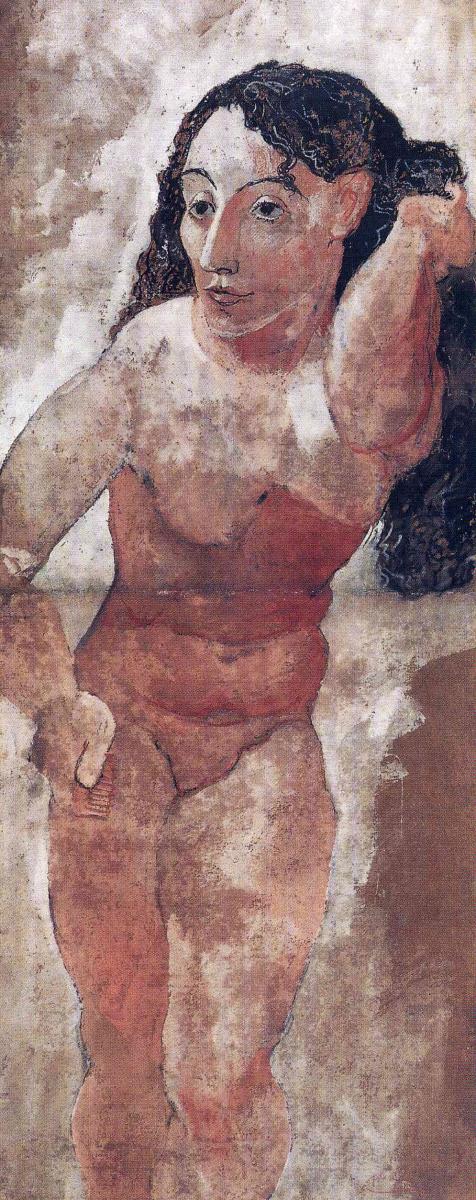 Пабло Пикассо. Женщина с расческой