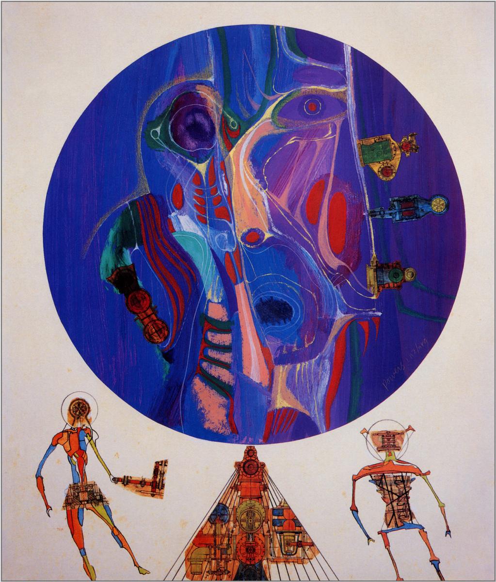 Richard Powers. New worlds