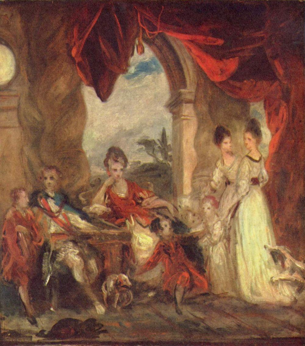 Джошуа Рейнолдс. Портрет герцога Мальборо с семьей