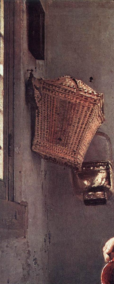 """Художник - Ян Вермеер - """"Молочница. Фрагмент"""" (Барокко, Портрет): Описание картины"""