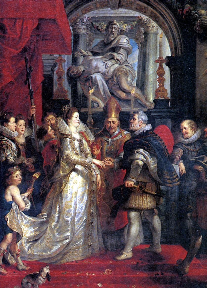 Питер Пауль Рубенс. Заочное бракосочетание во Флоренции