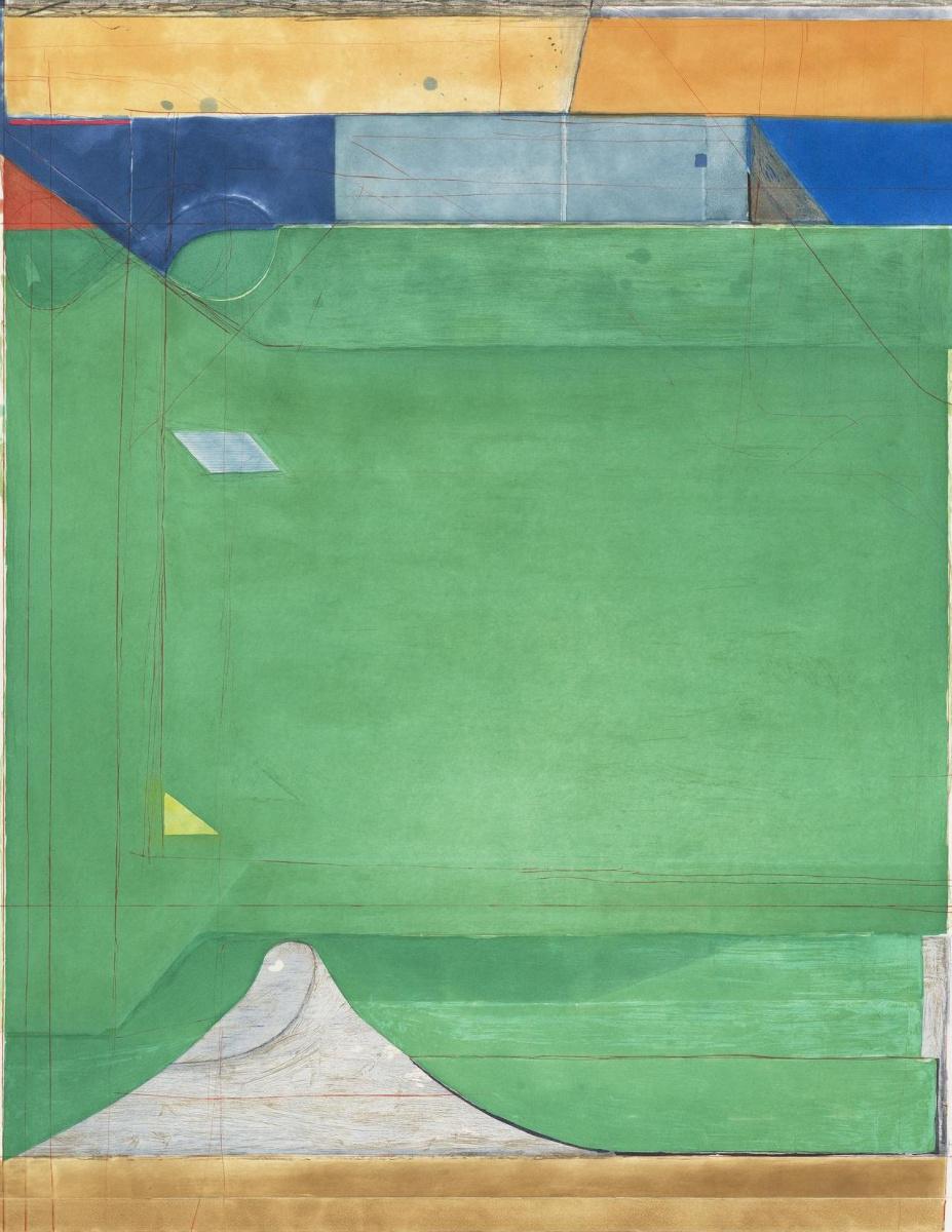 Ричард Дибенкорн. Зеленый