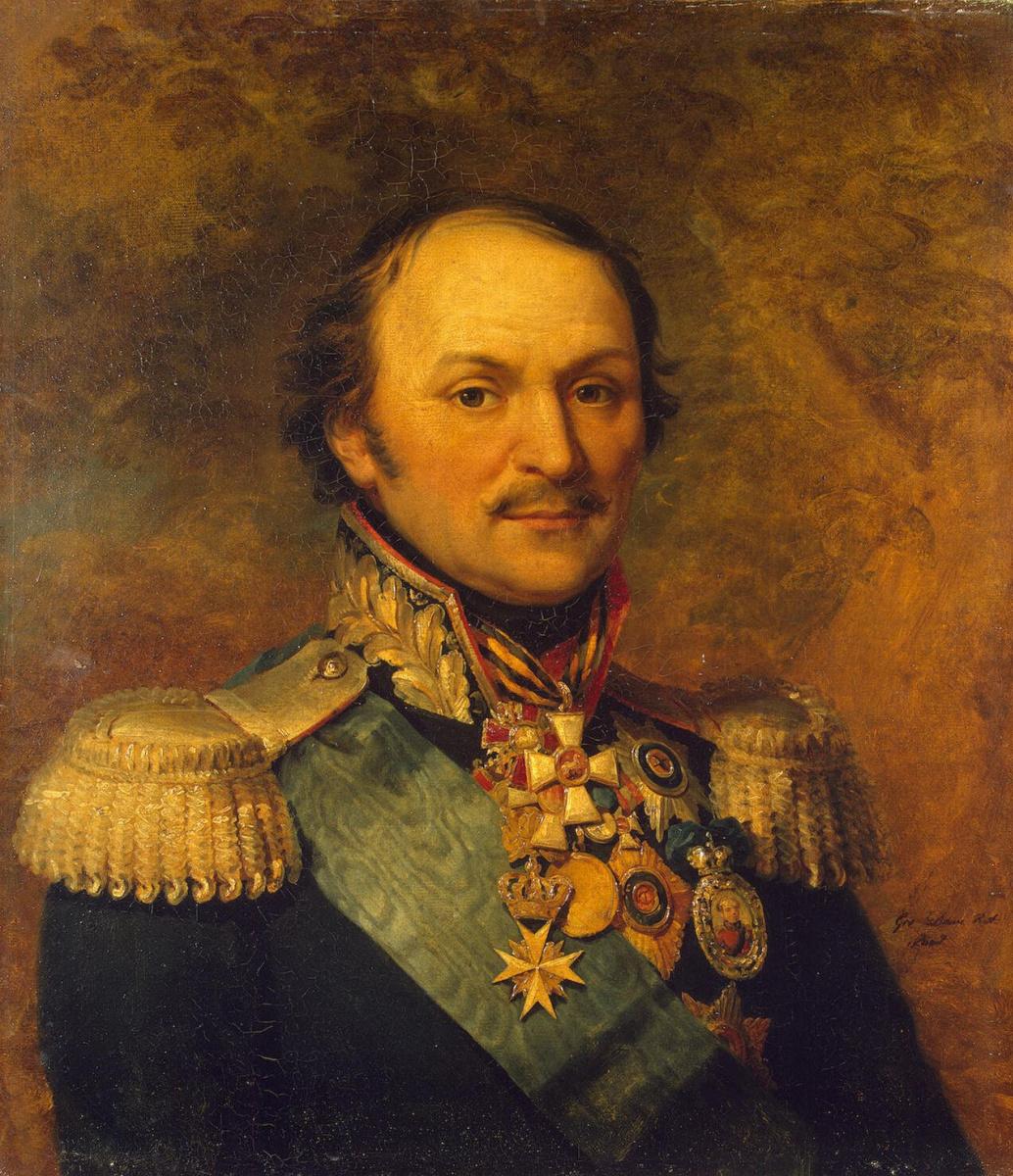Джордж Доу. Портрет Матвея Ивановича Платова