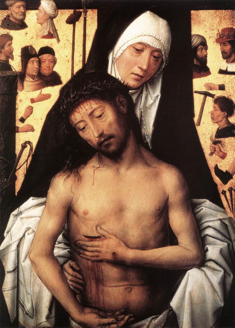 Hans Memling. Sorrowful Mother Of God