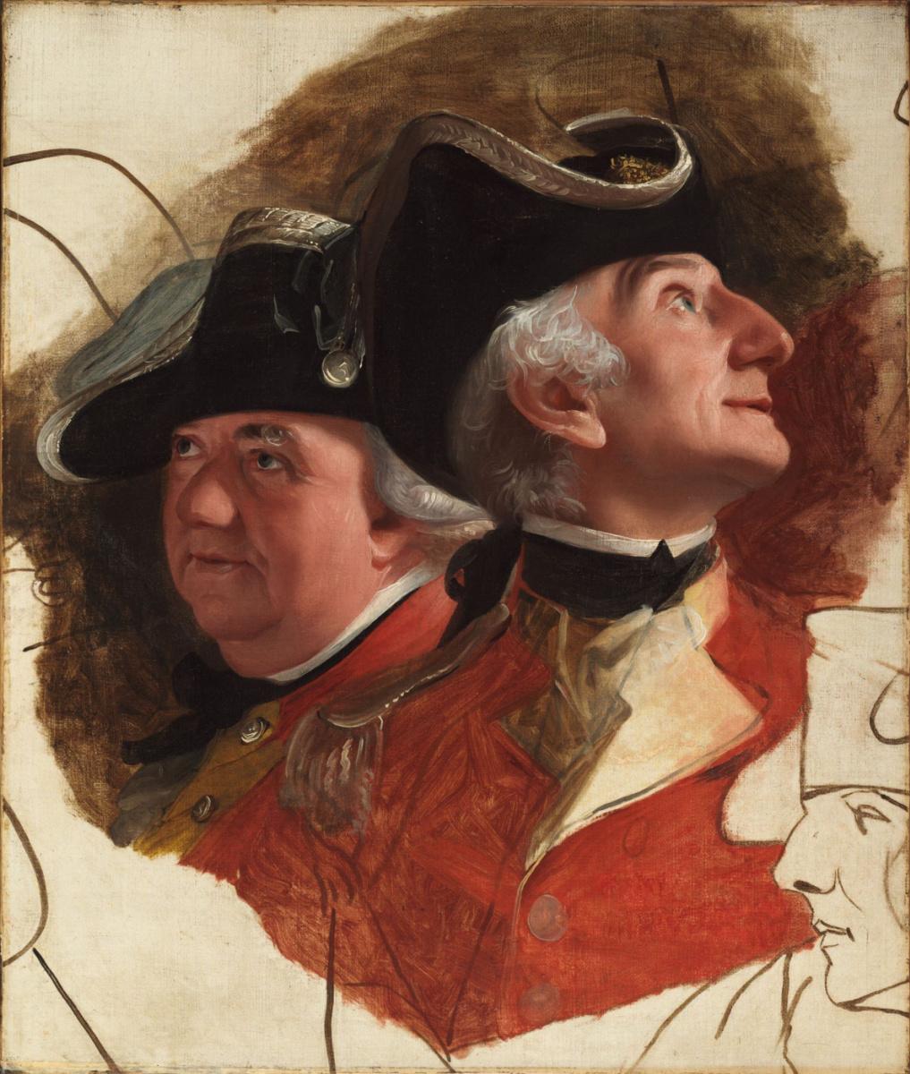 John Singleton Copley. Colonel Ernst August of Hugo and Lieutenant-Colonel von Sleighbell