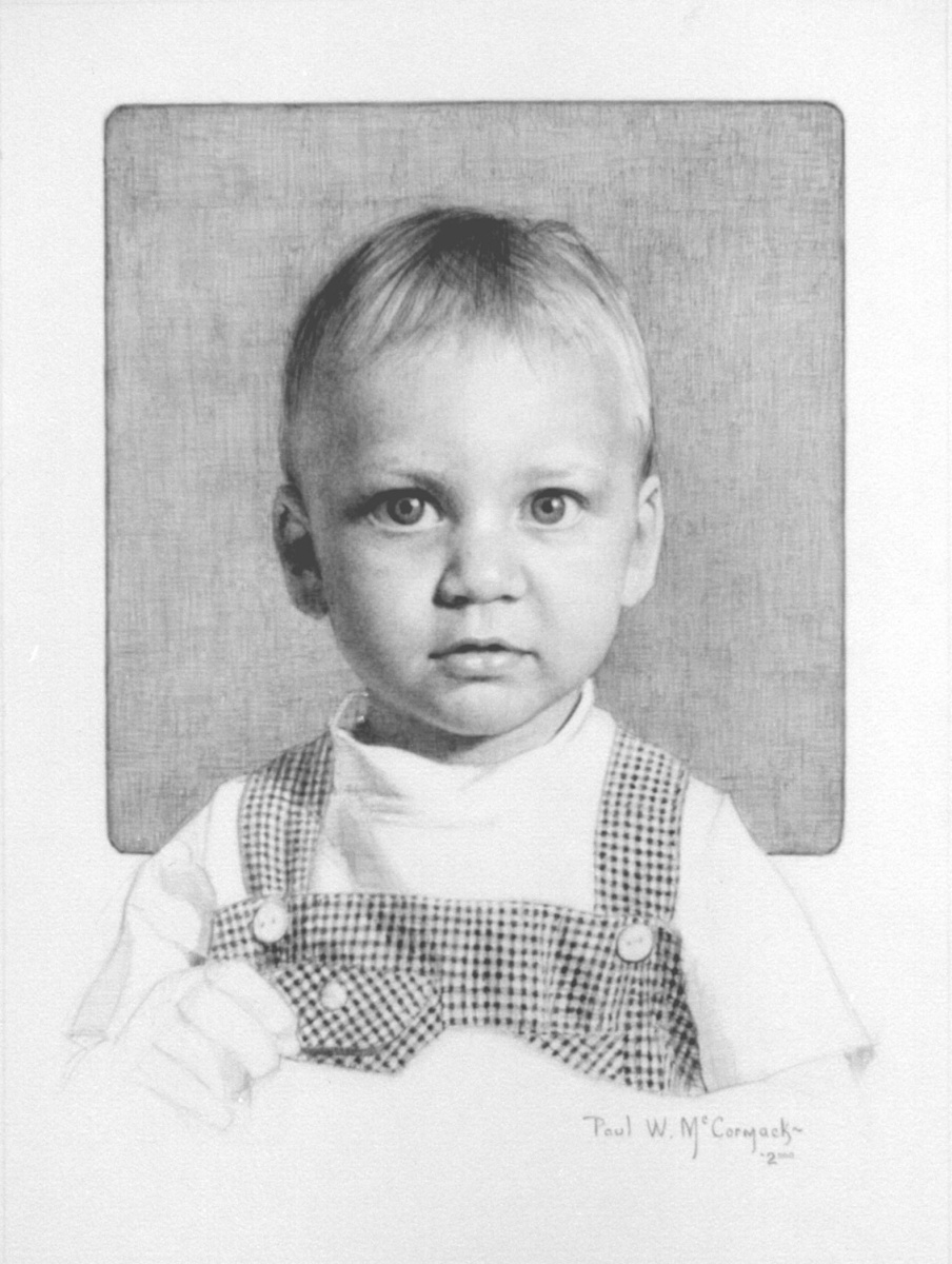 Пол Маккормак. Портрет ребенка