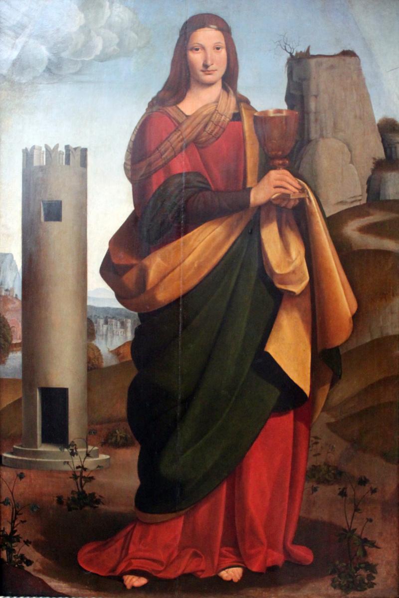 Джованни Антонио Больтраффио. Святая Варвара