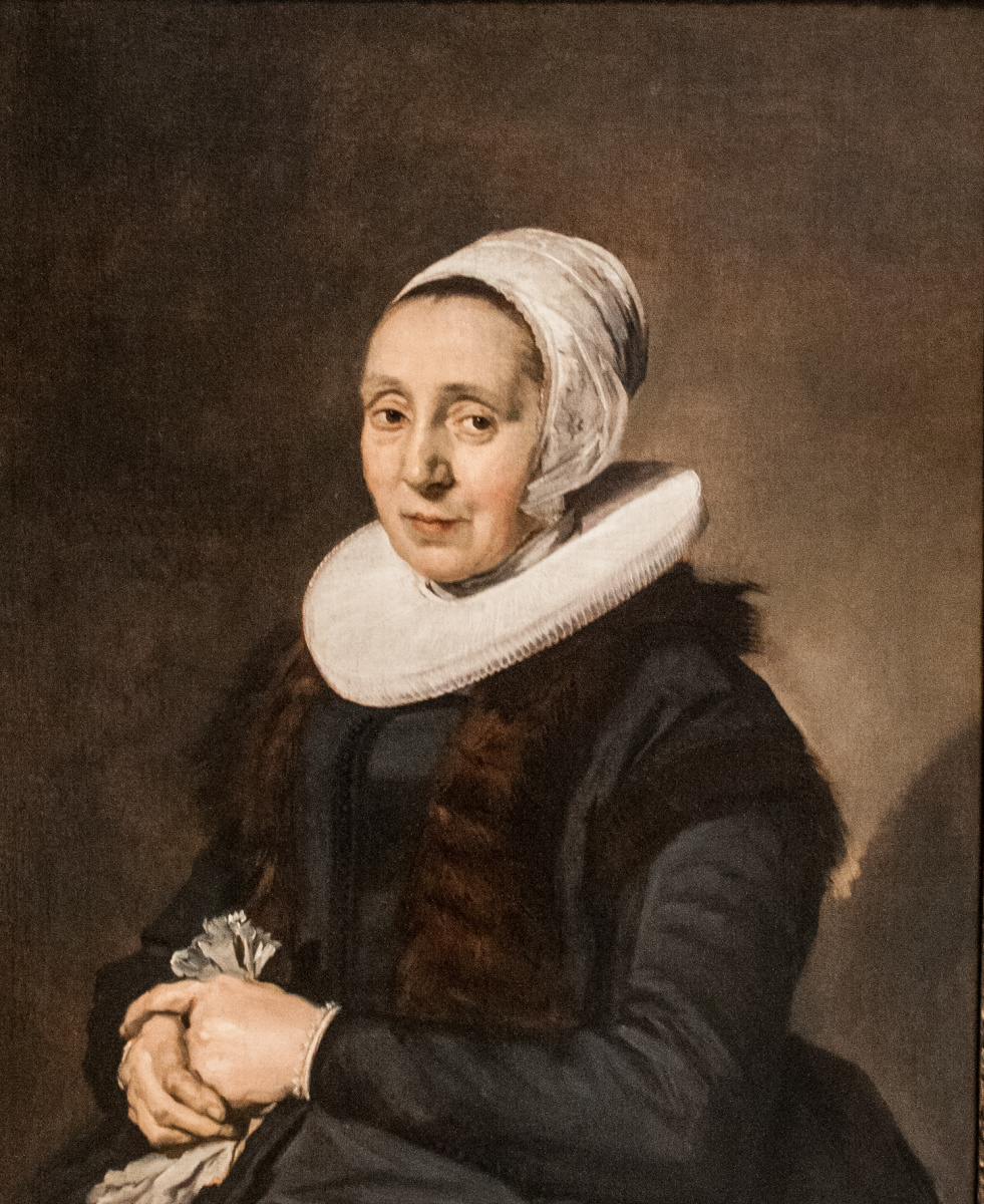 Frans Hals. Portrait of a 52 year old Lady