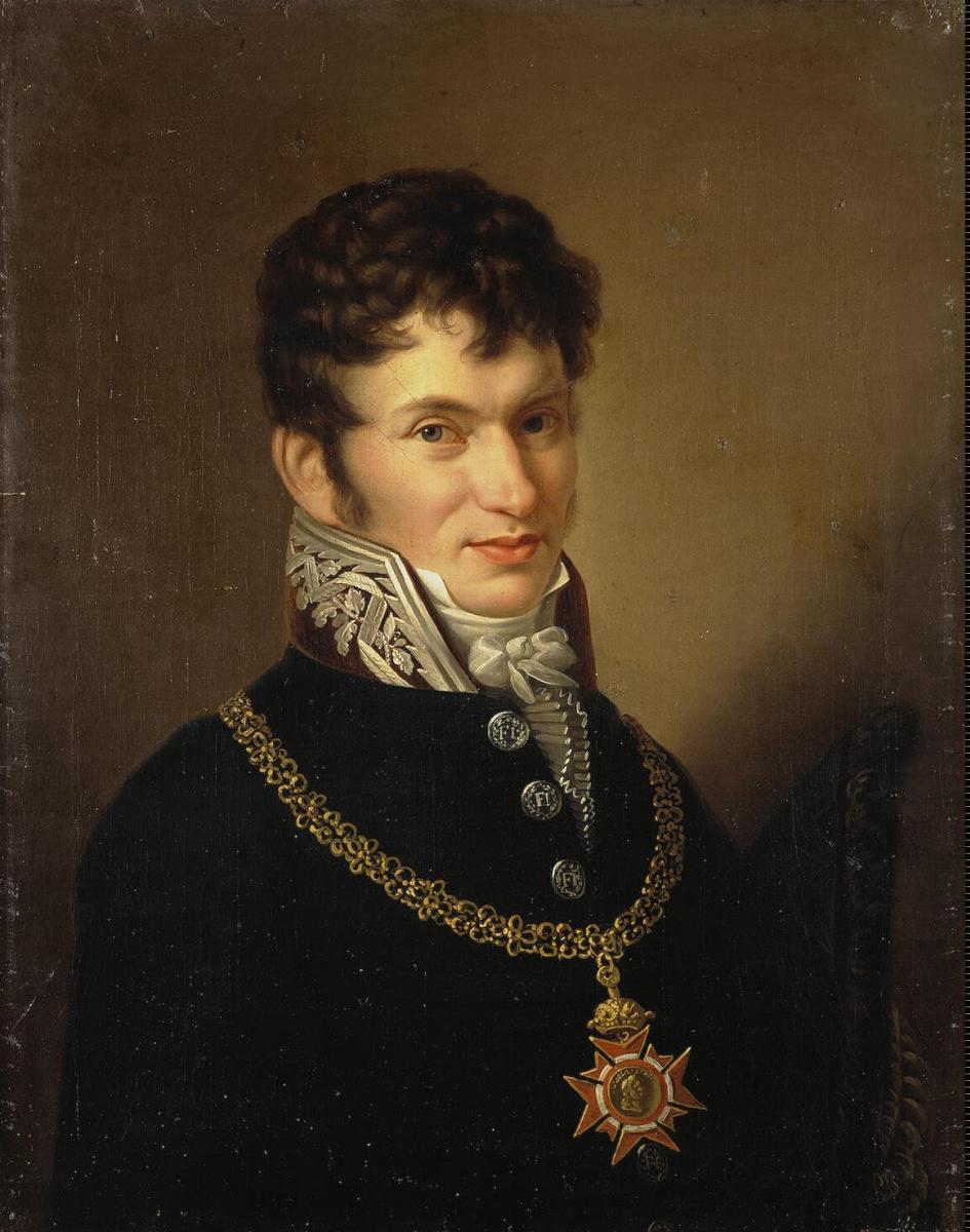 Карл Готтлиб Швейкарт. Портрет неизвестного