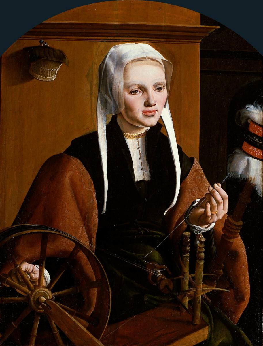 Мартен ван Хемскерк. Женский портрет