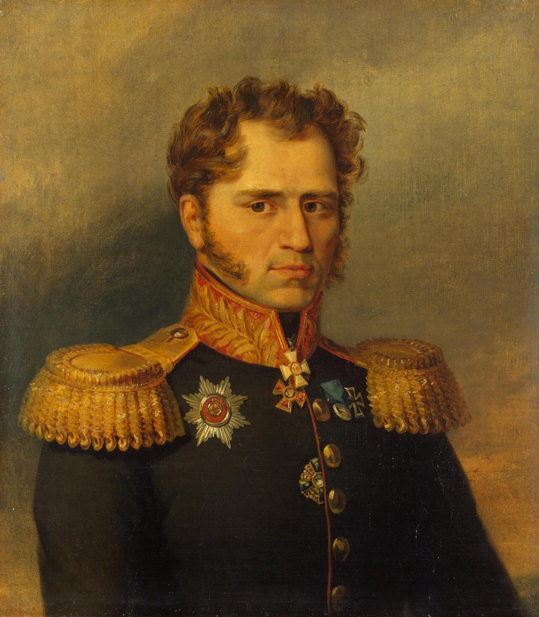 Джордж Доу. Портрет Александра Ивановича Юшкова