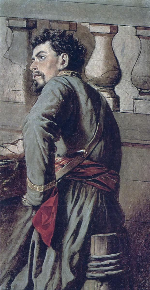 Василий Григорьевич Перов. Казак