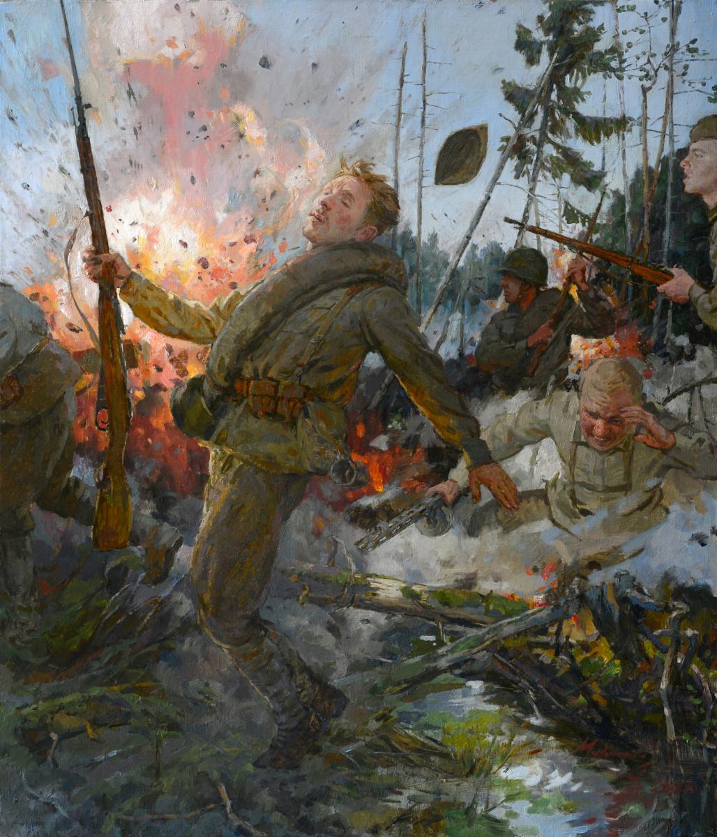 Andrey Nikolaevich Mironov. I was killed near Rzhev