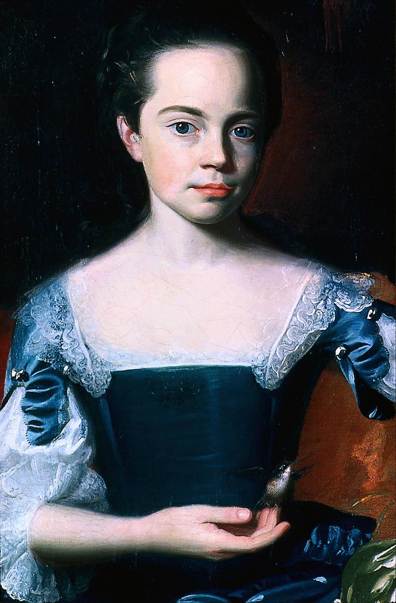 John Singleton Copley. Mary and Elizabeth Royall. Fragment