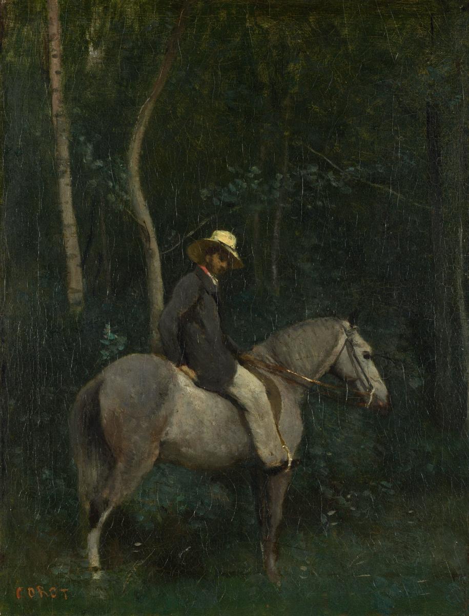 Камиль Коро. На коне