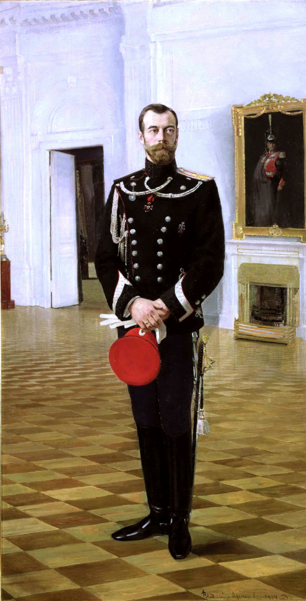 Владимир Кузнецов. Император Николай II