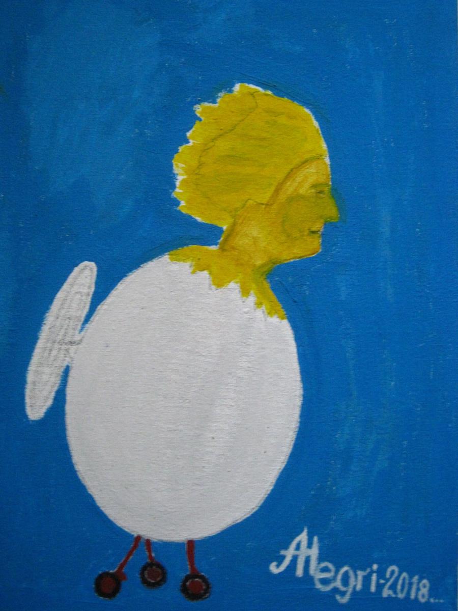 Алексей Гришанков (Alegri). Птенец Валькирии  The Valkyrie's Baby Bird
