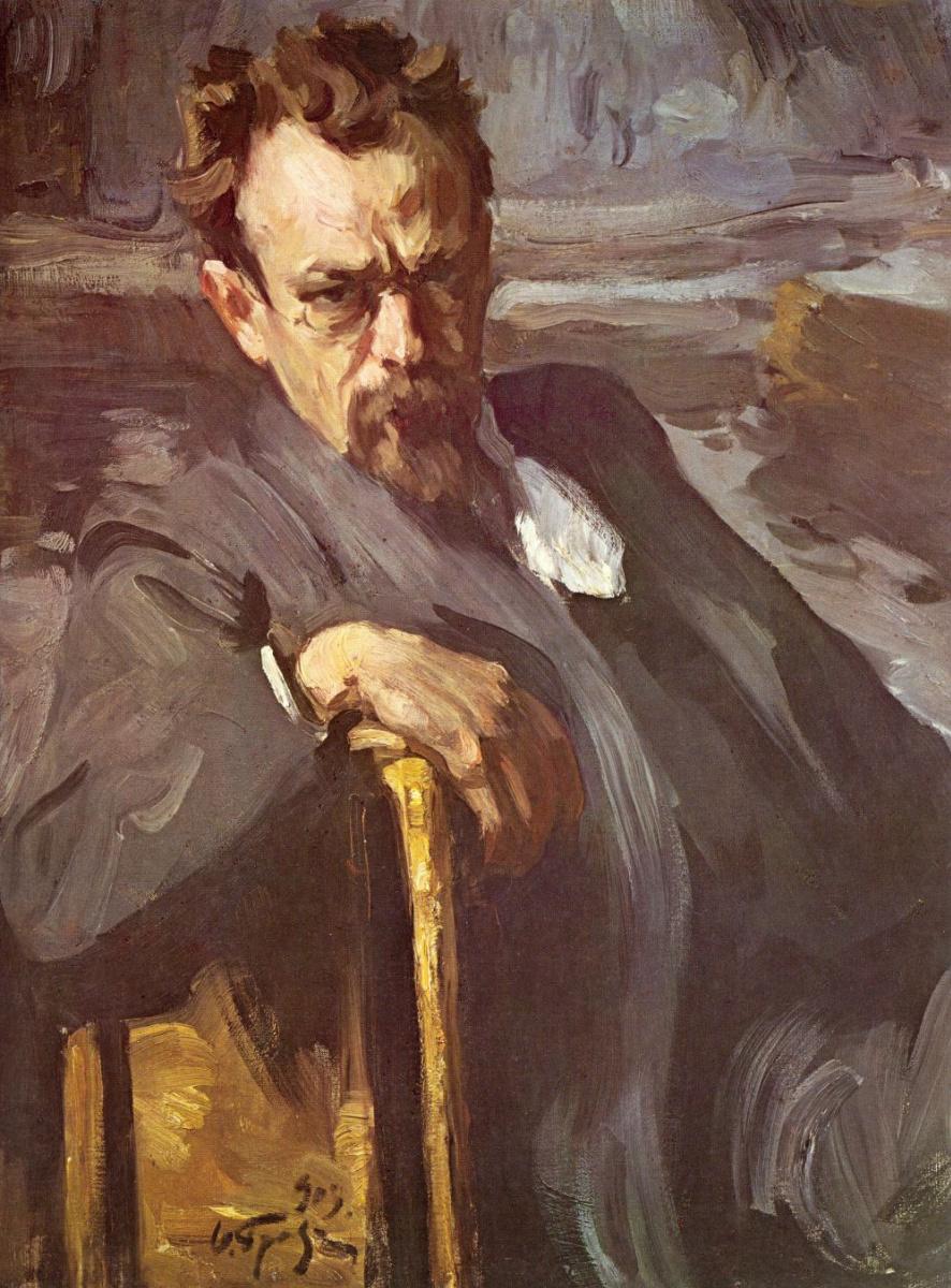 Осип (Иосиф) Эммануилович Браз. Портрет Сергея Васильевича Иванова