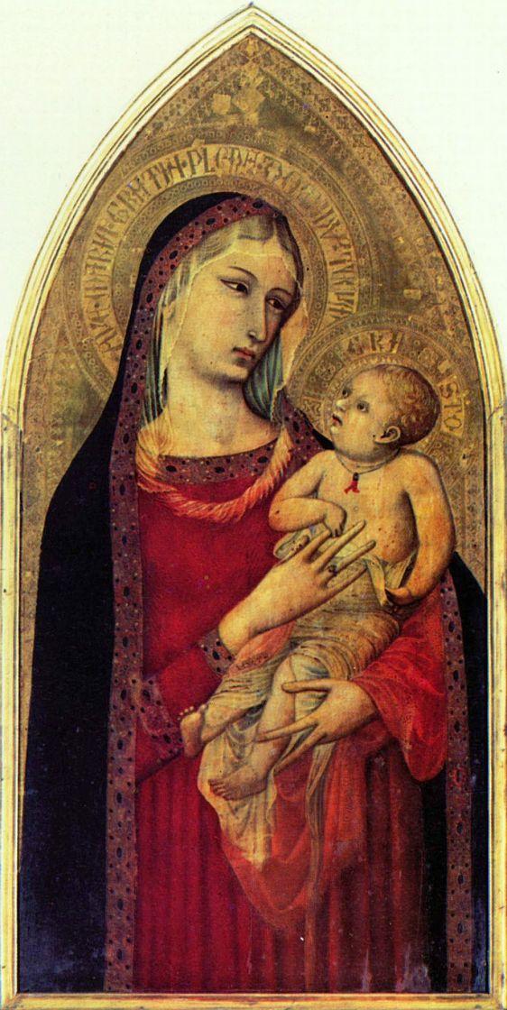Амброджо Лоренцетти. Мадонна
