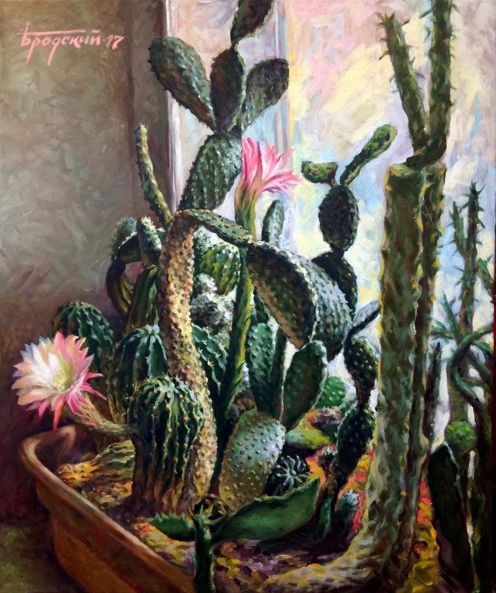 David Shikovich Brodsky. Cacti - 1