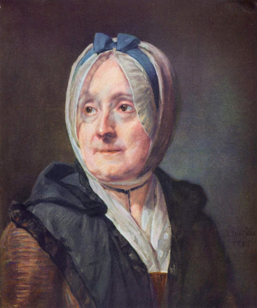 Жан Батист Симеон Шарден. Портрет госпожи Шарден