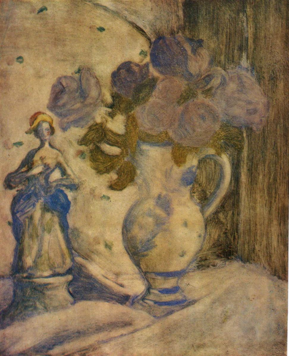 Елизавета Сергеевна Кругликова. Натюрморт. 1918