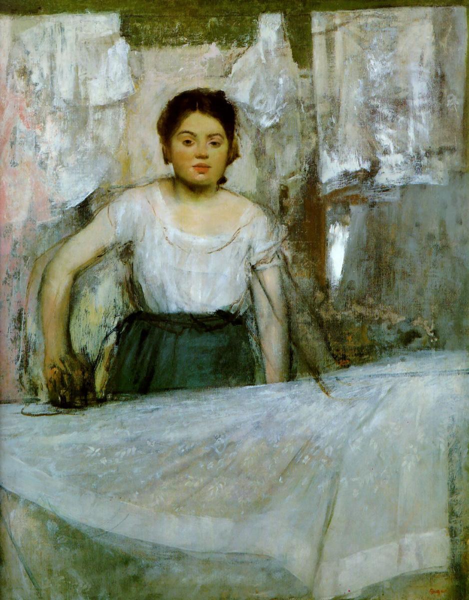 Эдгар Дега. Женщина гладит