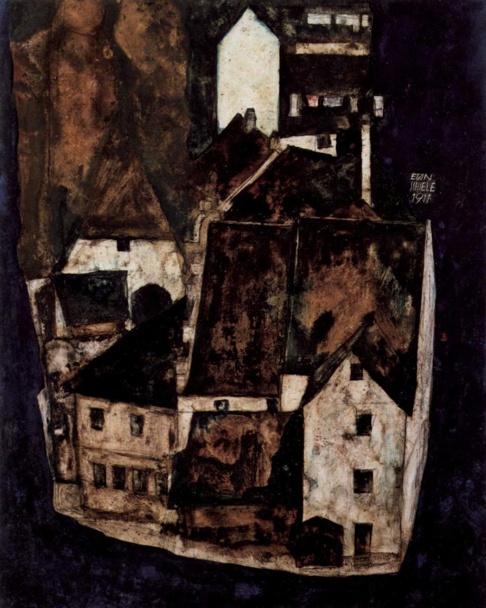 Egon Schiele. Dead city