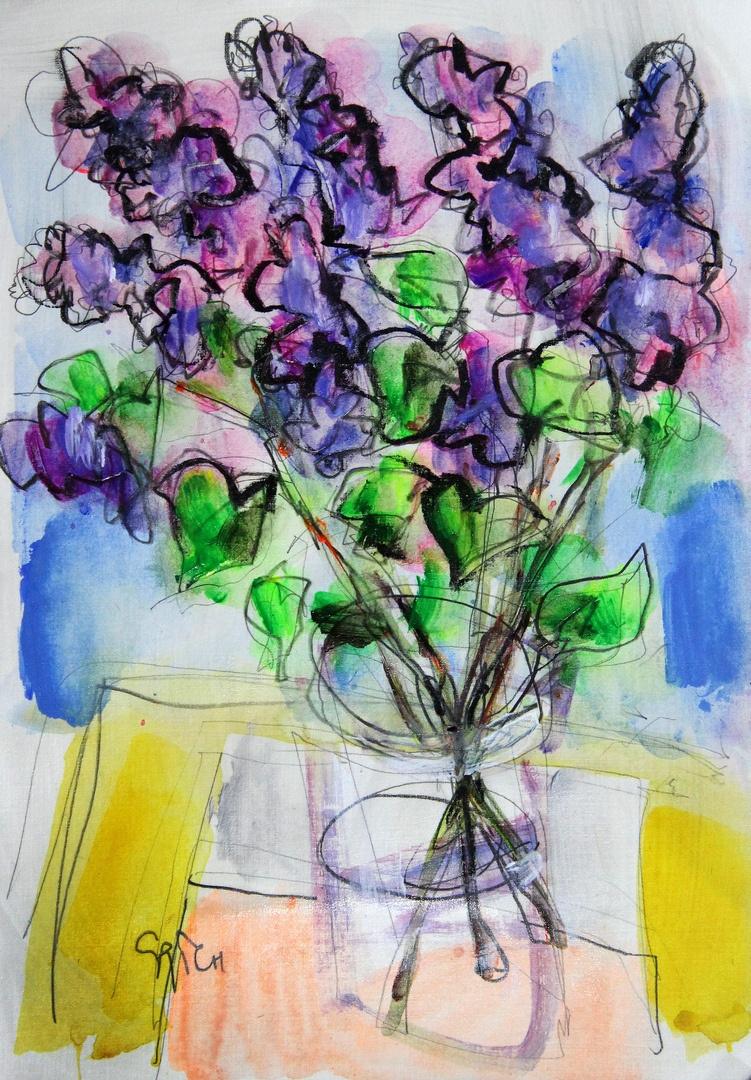 Ilya Pavlovich Spichenkov. Lilac time