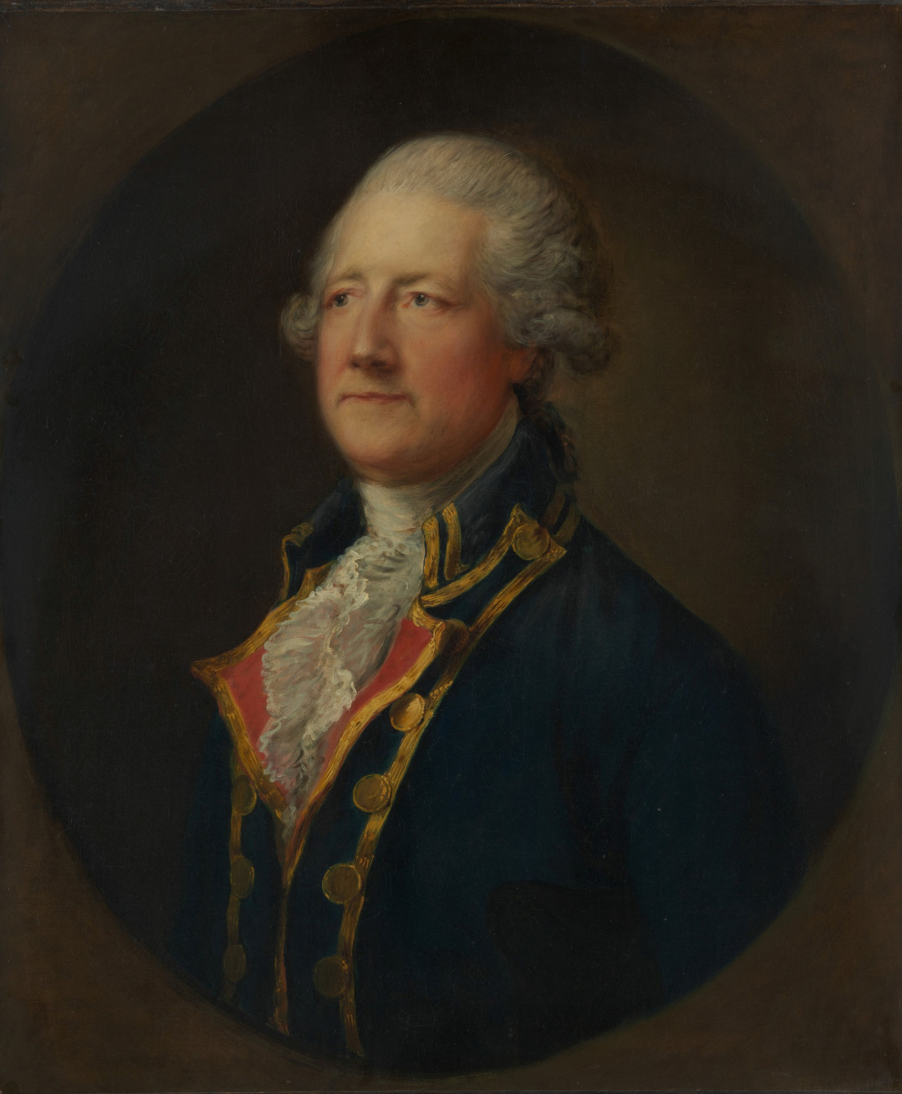 Thomas Gainsborough. John Hobart, 2nd Earl of Buckinghamshire
