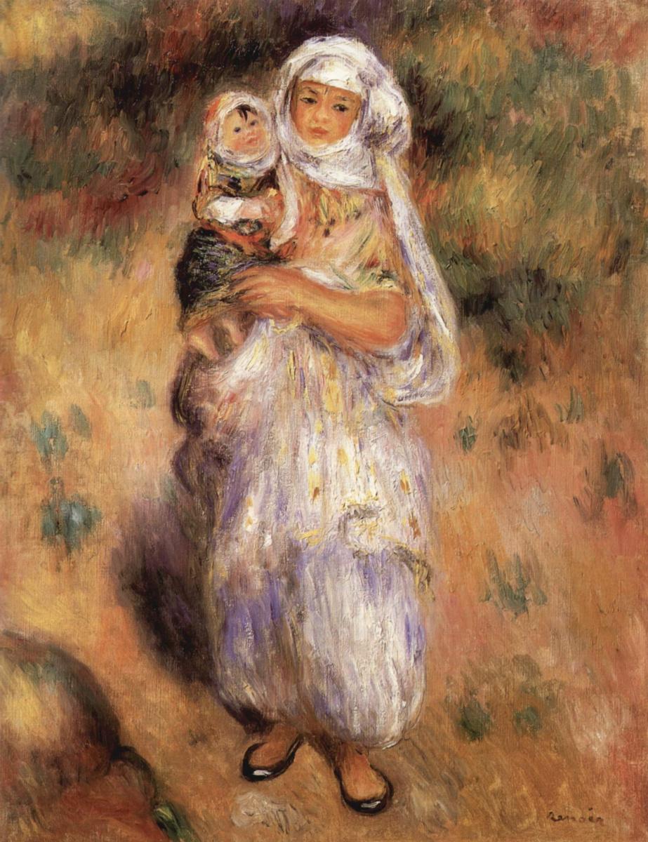 Пьер Огюст Ренуар. Алжирка с ребенком
