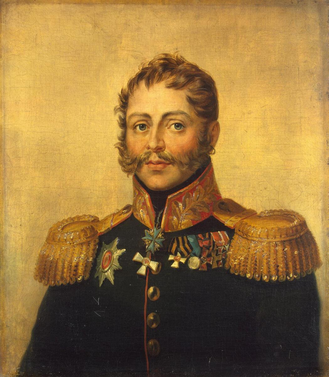George Dow. Portrait Of Alexander I. Markov