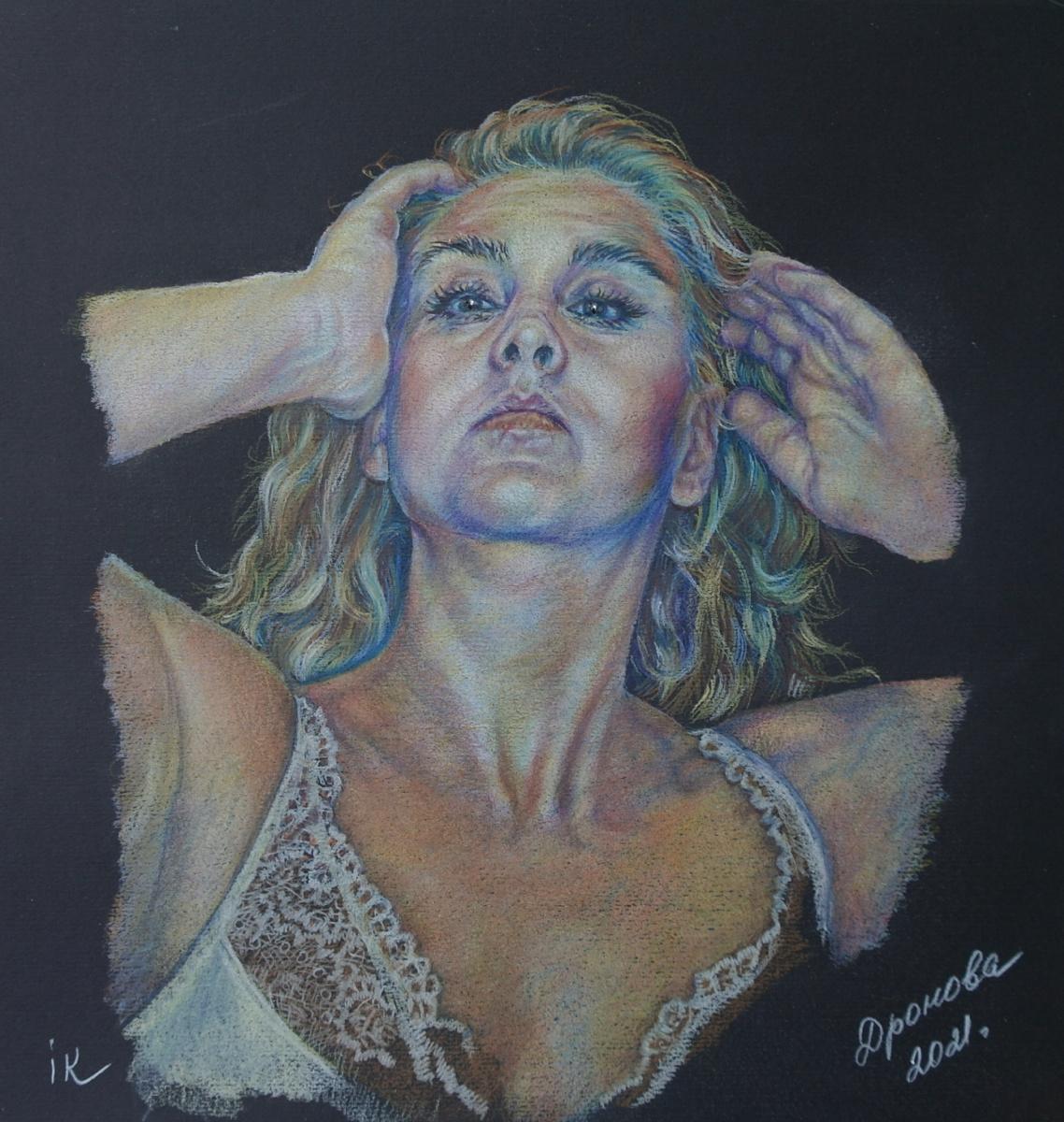 Irina Viktorovna Korotoyakskaya (Dronova). Женский портрет