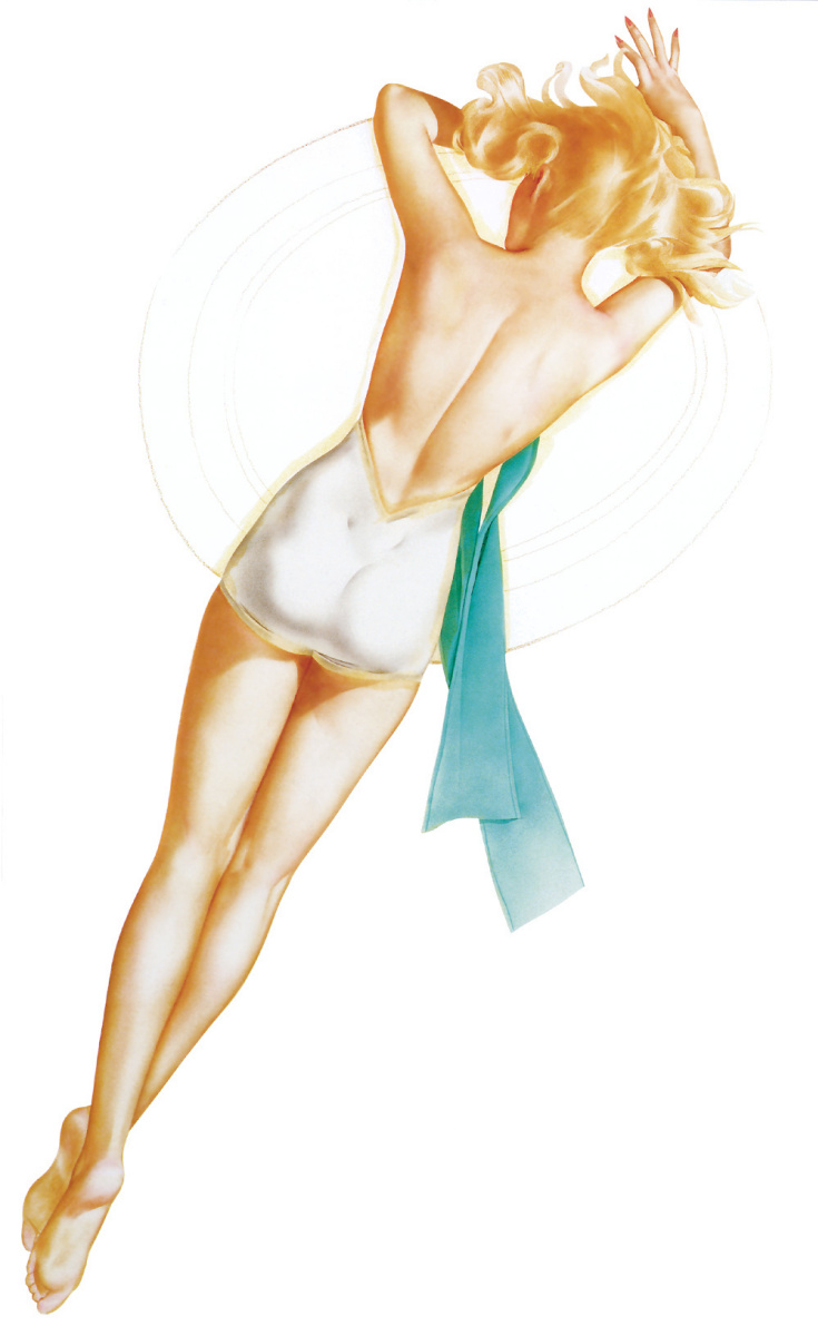 Альберто Варгас. Пин-ап 58