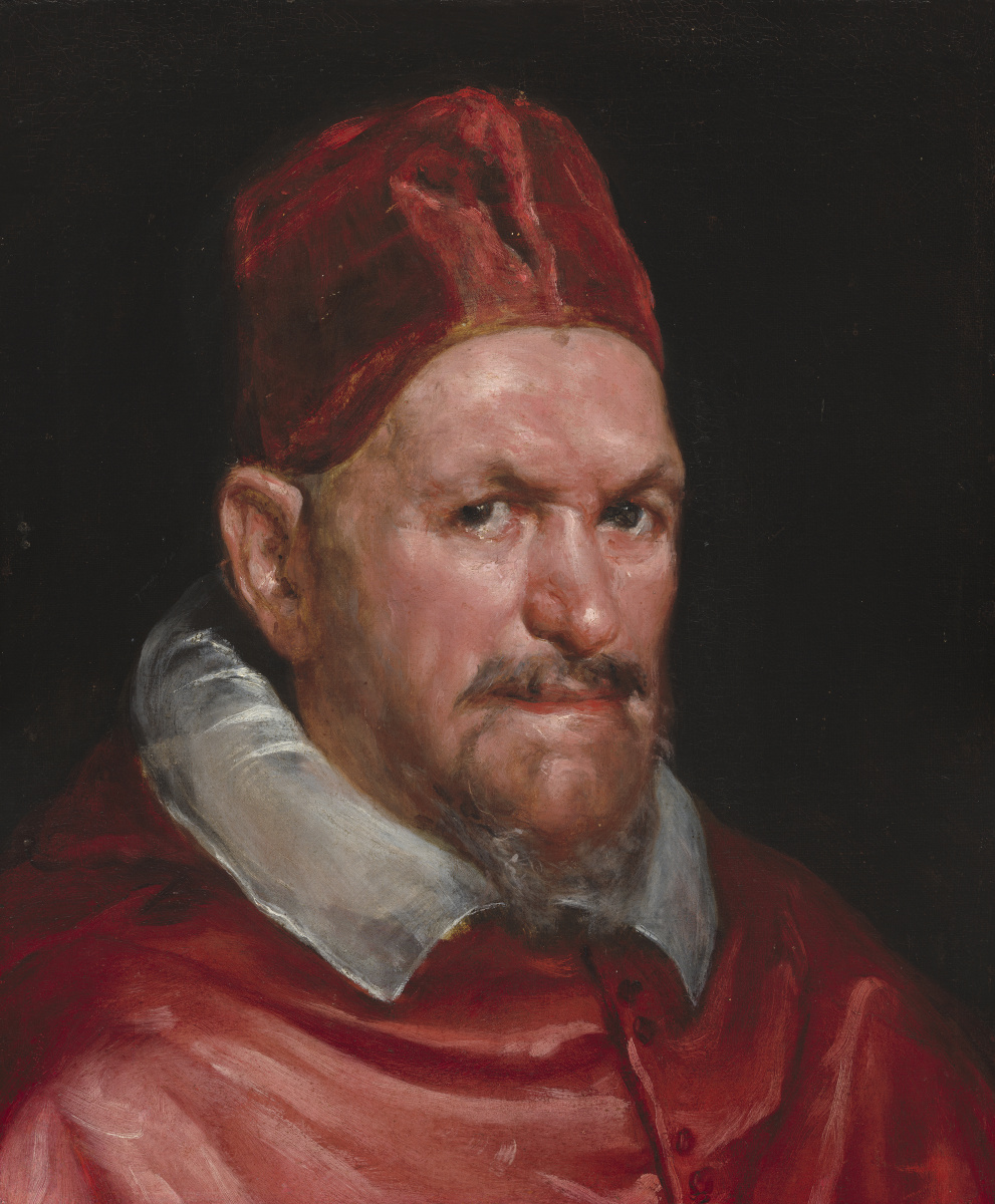 Diego Velazquez. Portrait of Pope innocent X