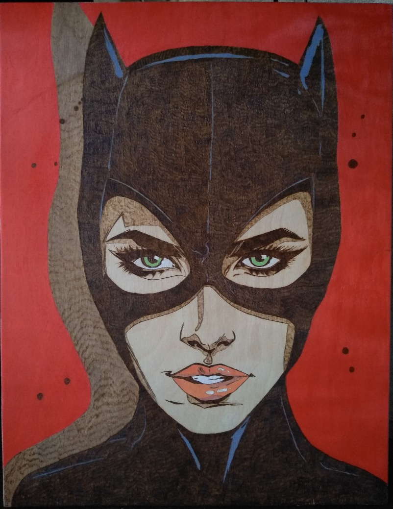 Ангелина Андреевна Гладышева. Catwoman